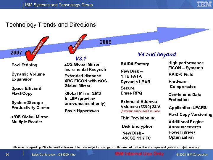 IBM Systems and Technology Group nc ed ou 2008 an n 2007 ou nc