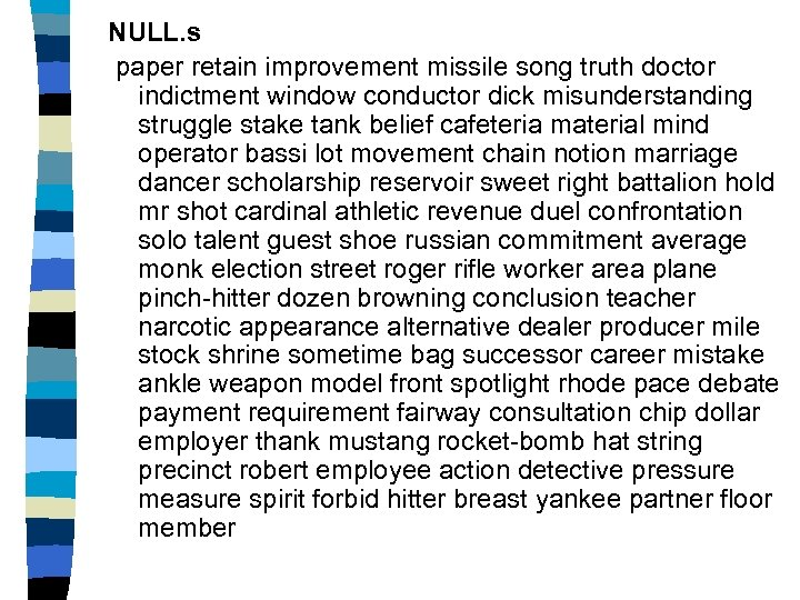 NULL. s paper retain improvement missile song truth doctor indictment window conductor dick misunderstanding