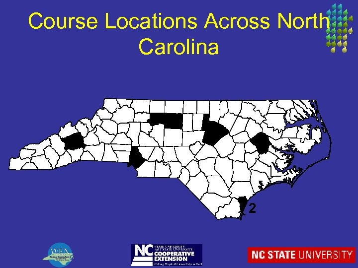 Course Locations Across North Carolina 3 2