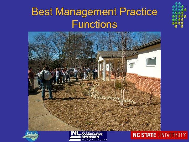 Best Management Practice Functions