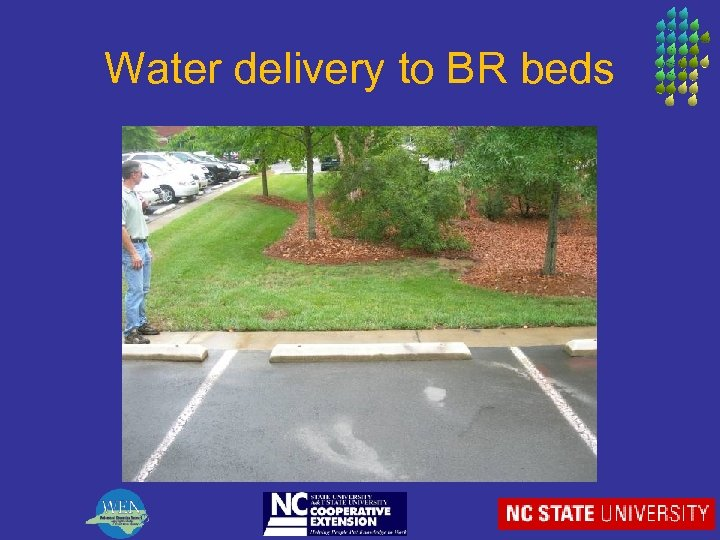 Water delivery to BR beds