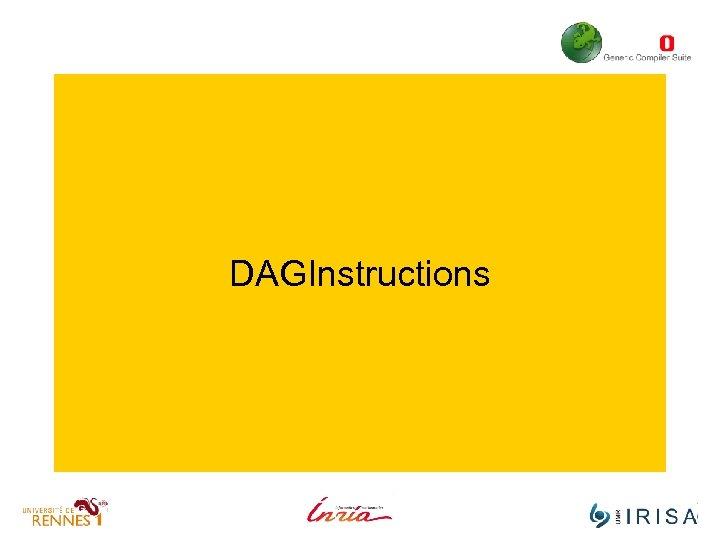 DAGInstructions