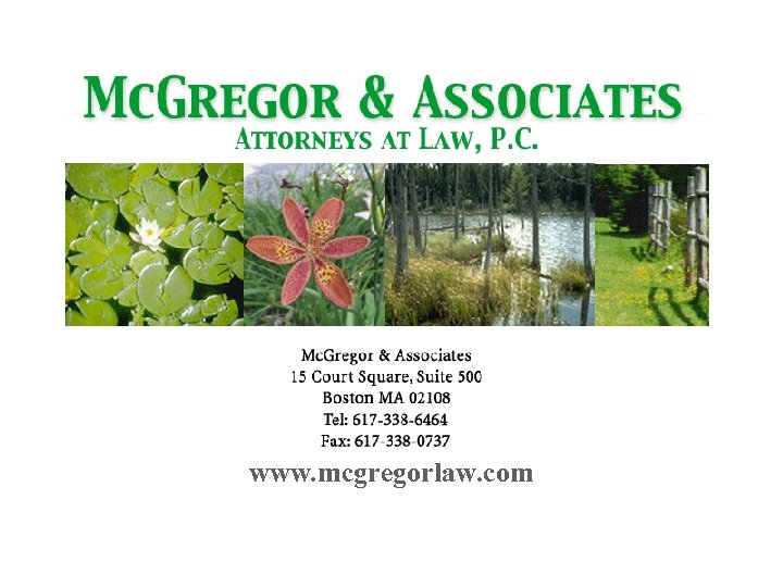 www. mcgregorlaw. com