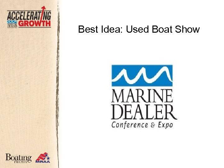 Best Idea: Used Boat Show