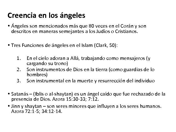 Creencia en los ángeles • Ángeles son mencionados más que 80 veces en el