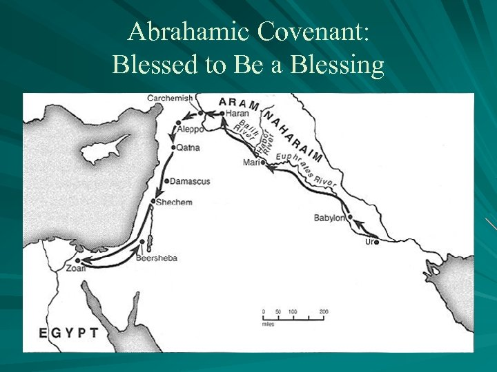 Abrahamic Covenant: Blessed to Be a Blessing