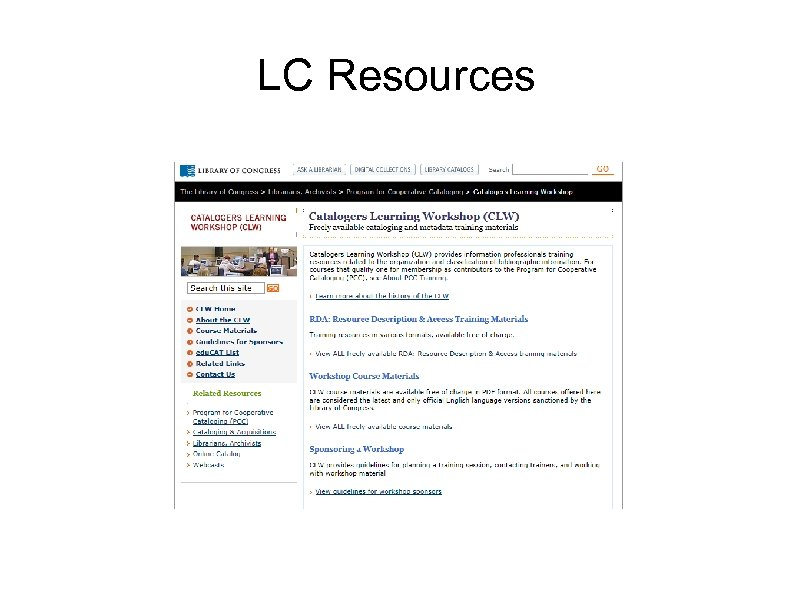 LC Resources