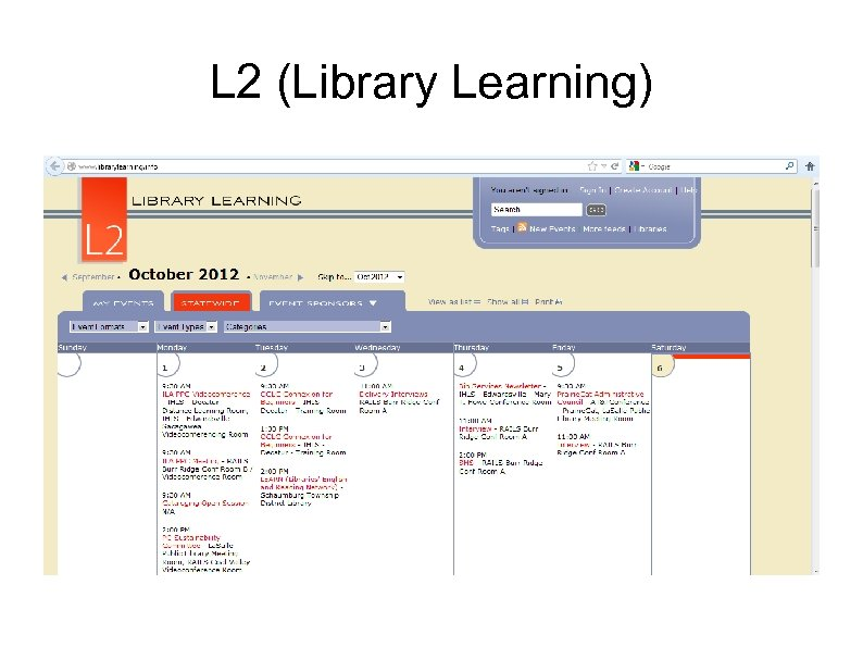 L 2 (Library Learning)