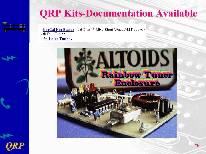 QRP Kits-Documentation Available QRP 70