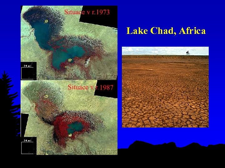 Lake Chad, Africa