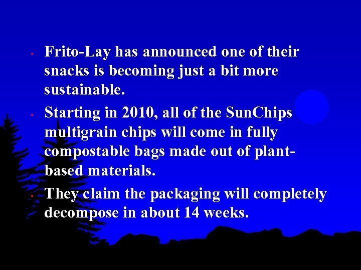• • • Frito-Lay has announced one of their snacks is becoming just