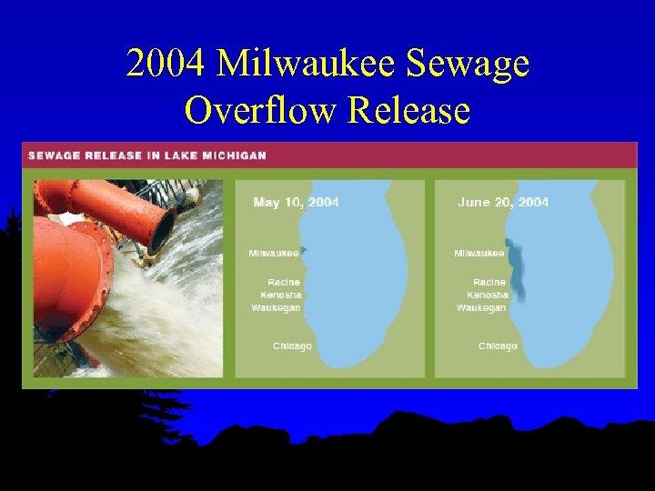 2004 Milwaukee Sewage Overflow Release
