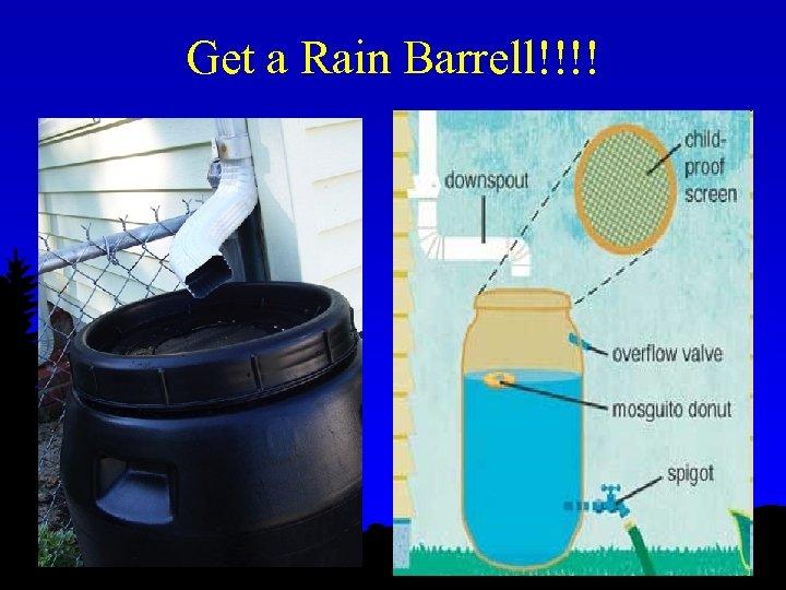 Get a Rain Barrell!!!!