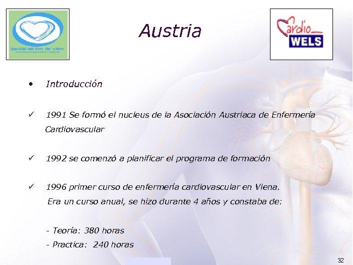 ACADEMIA Austria • Introducción ü 1991 Se formó el nucleus de la Asociación Austriaca