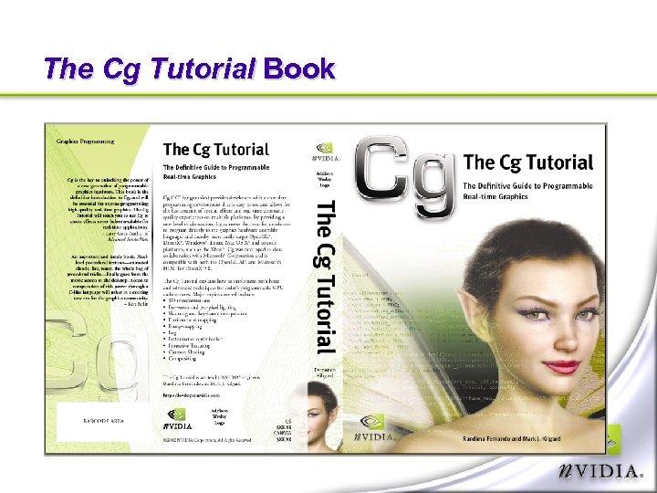 The Cg Tutorial Book