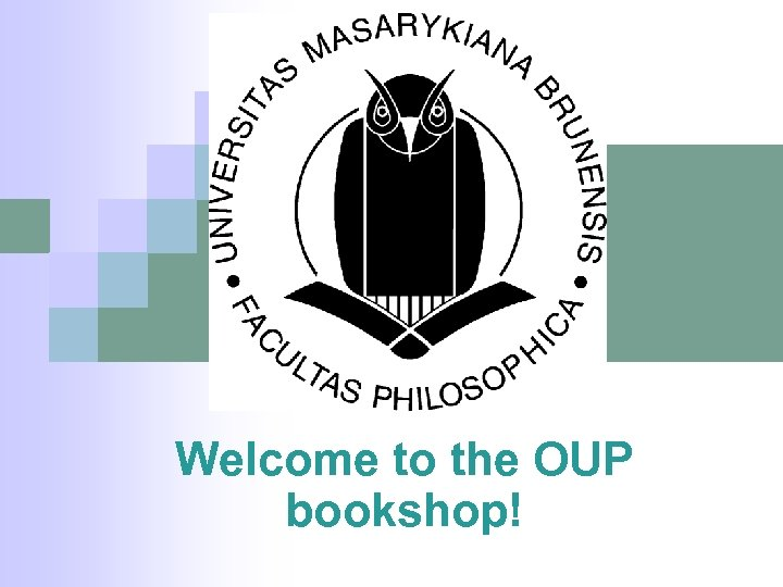 Welcome to the OUP bookshop!