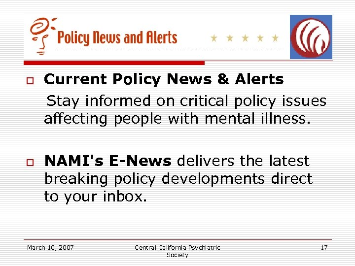 Current Policy News & Alerts Stay informed on critical policy issues affecting people with