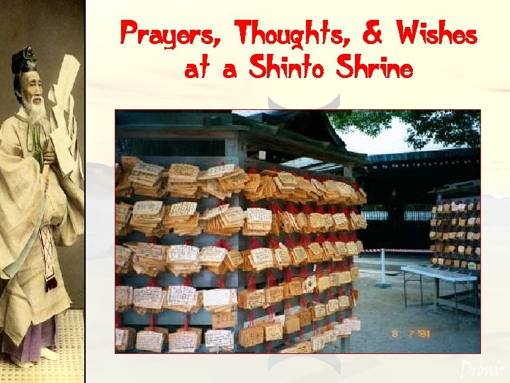 Prayers, Thoughts, & Wishes at a Shinto Shrine