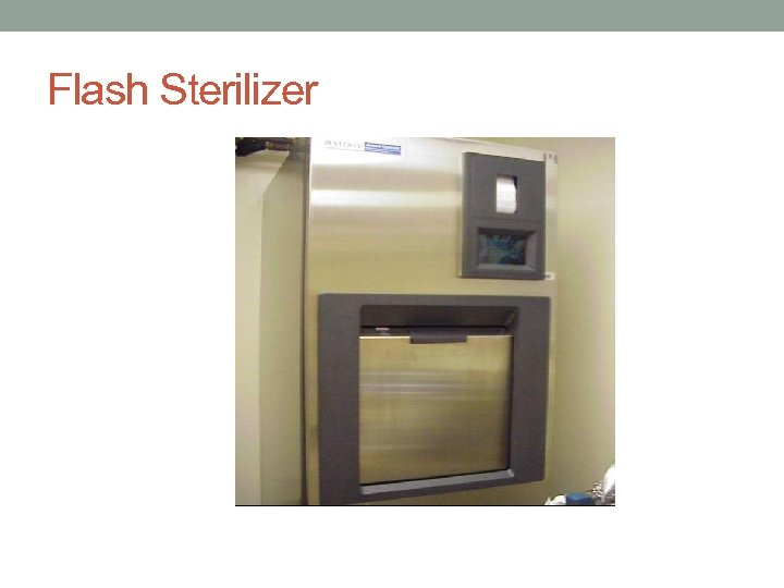 Flash Sterilizer