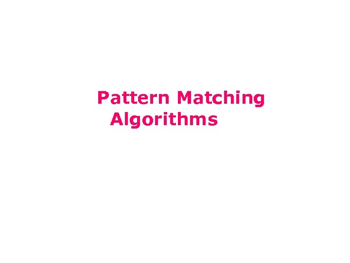 15 -211 Fundamental Data Structures and Algorithms String