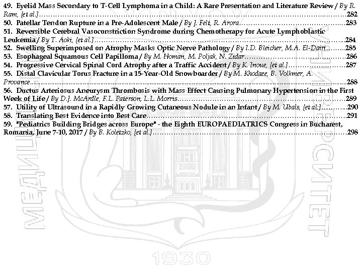 49. Eyelid Mass Secondary to T-Cell Lymphoma in a Child: A Rare Presentation and