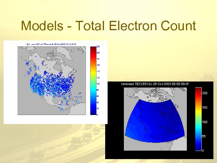 Models - Total Electron Count