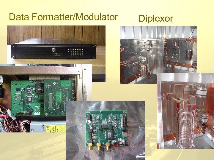 Data Formatter/Modulator Diplexor