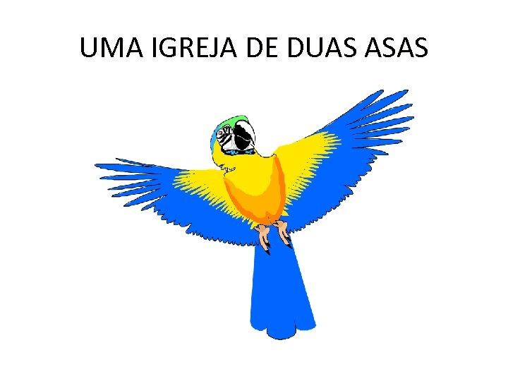 UMA IGREJA DE DUAS ASAS