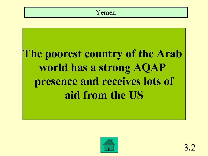 Yemen The poorest country of the Arab world has a strong AQAP presence and