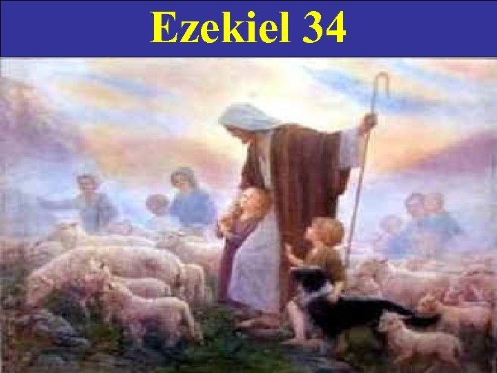Ezekiel 34