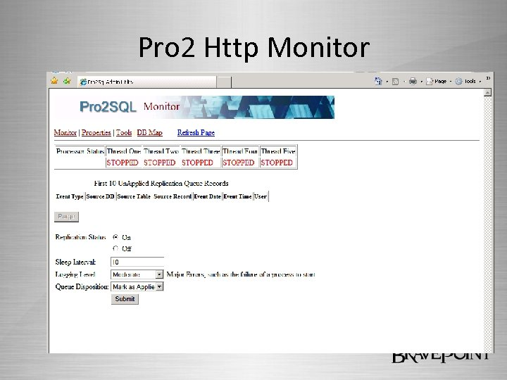 Pro 2 Http Monitor