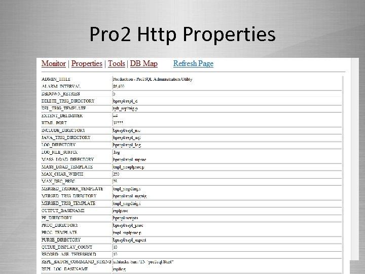 Pro 2 Http Properties