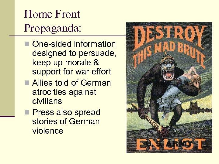 Aks 45 World War I Chapter 29