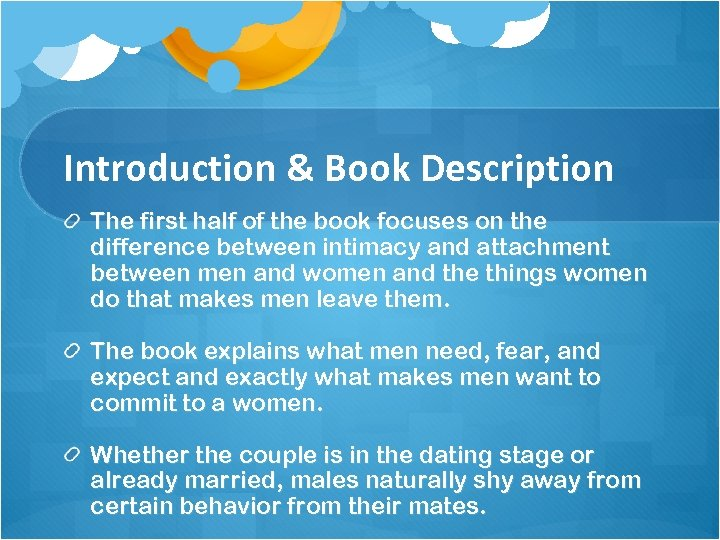 Introduction & Book Description The first half of the book focuses on the difference