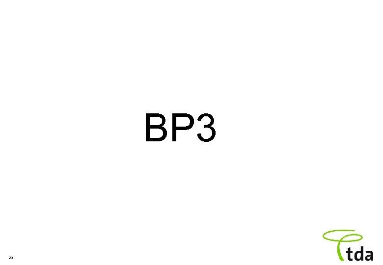 BP 3 20