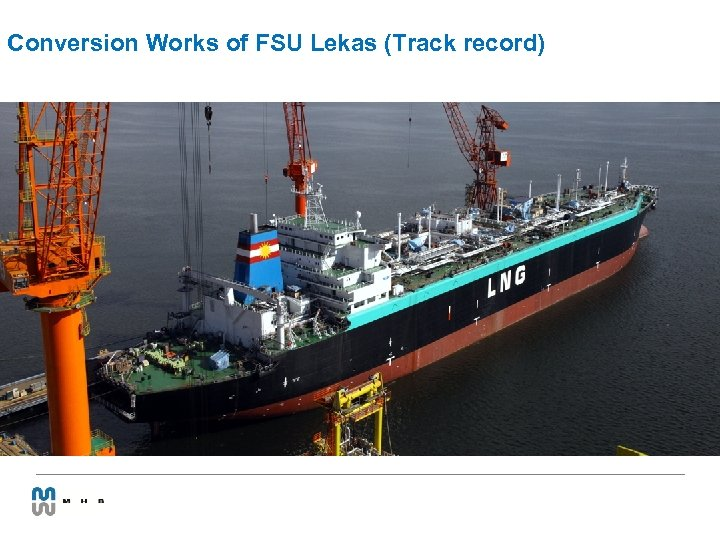 Conversion Works of FSU Lekas (Track record)