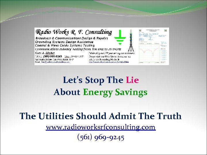 Let's Stop The Lie About Energy Savings The Utilities Should Admit The Truth www.