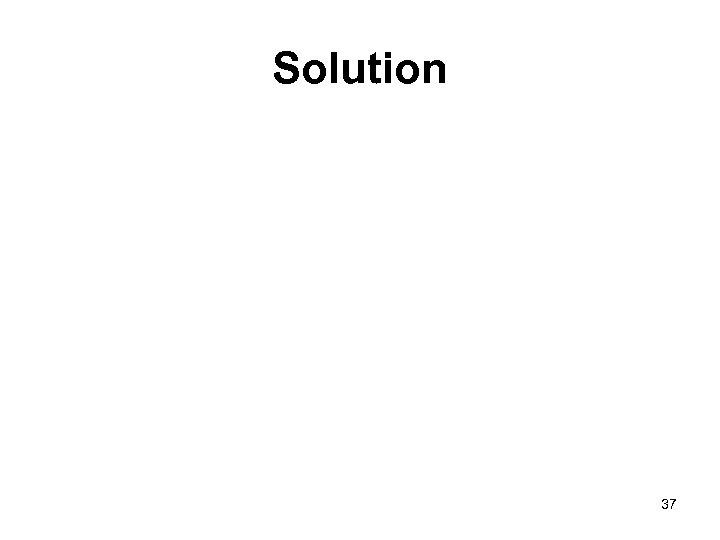 Solution 37