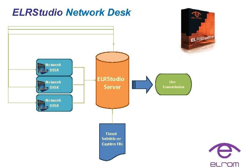 ELRStudio Network Desk Network DESK ELRStudio Server Network DESK Timed Subtitle or Caption File