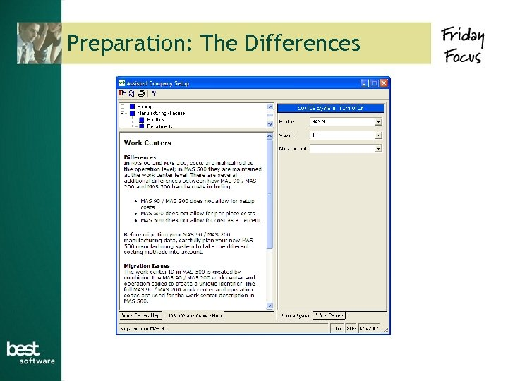 Preparation: The Differences
