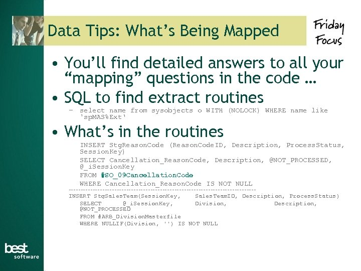 """Data Tips: What's Being Mapped • You'll find detailed answers to all your """"mapping"""""""