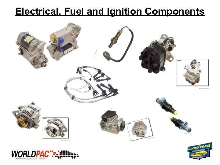 Electrical, Fuel and Ignition Components