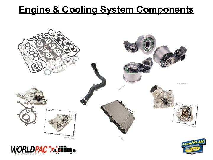 Engine & Cooling System Components
