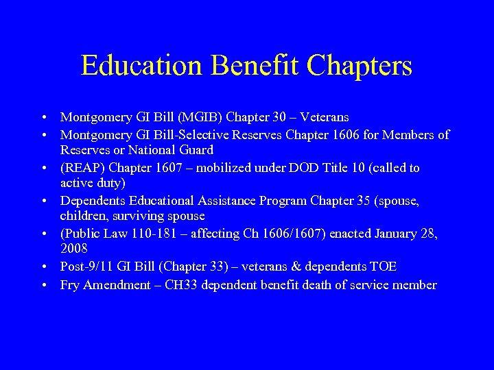 U S Department of Veterans Affairs New SCO