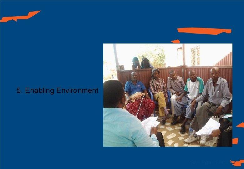 5. Enabling Environment 62