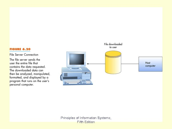 Fig 6. 20 Principles of Information Systems, Fifth Edition