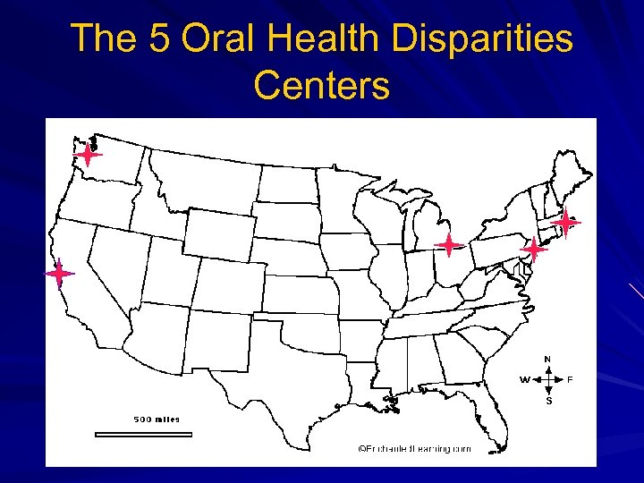 The 5 Oral Health Disparities Centers