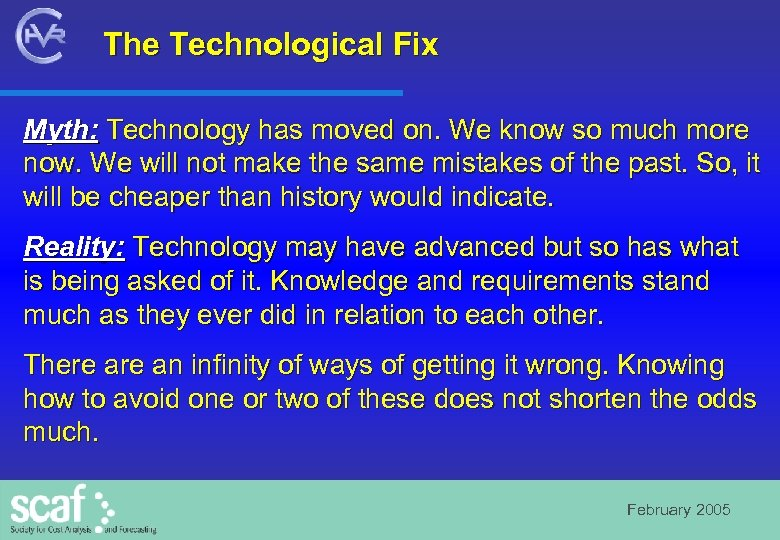 The Technological Fix Myth: Technology has moved on. We know so much more now.