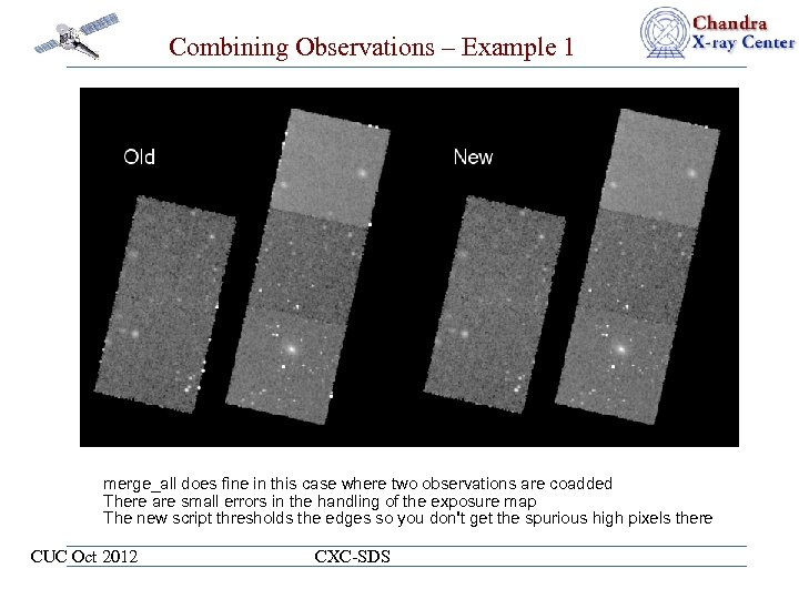 Combining Observations – Example 1 merge_all does fine in this case where two observations