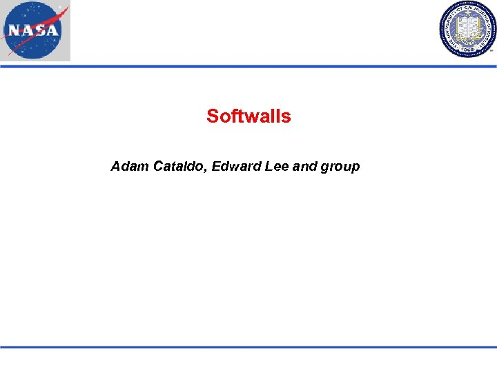 Softwalls Adam Cataldo, Edward Lee and group